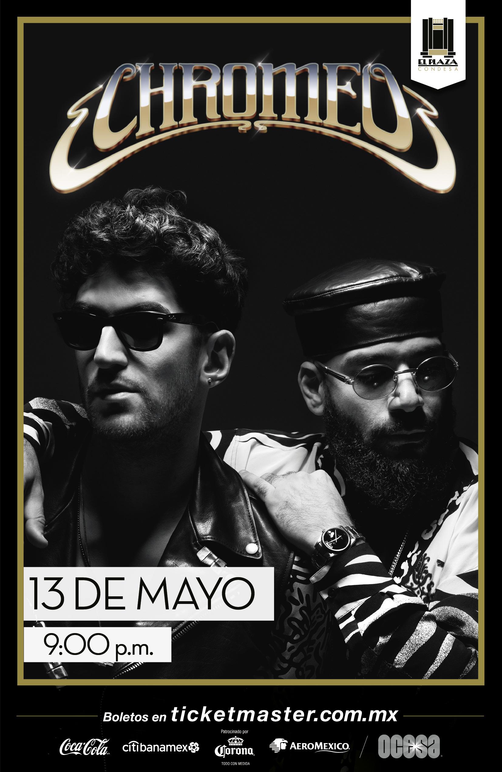 Chromeo México 2019