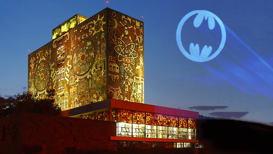 Batman en la UNAM