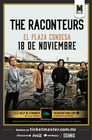 The Raconteurs México 2019