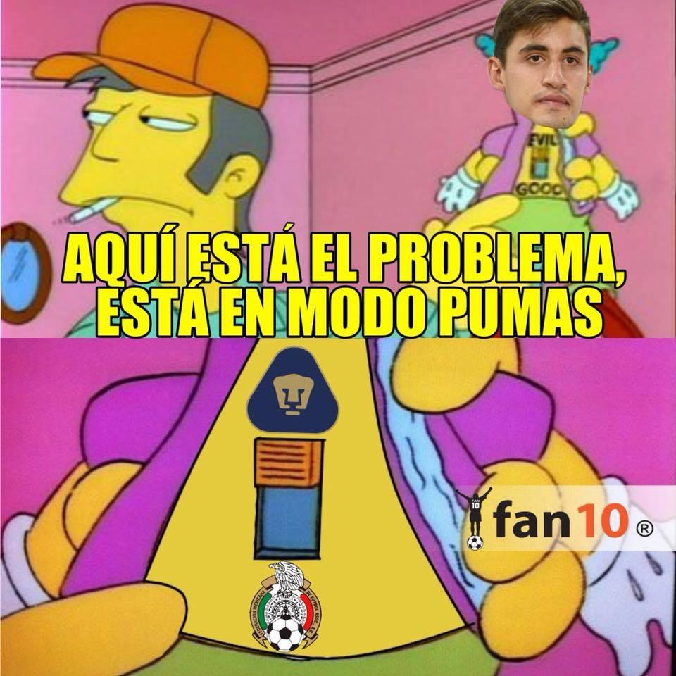 Memes del partido molero de la Selección