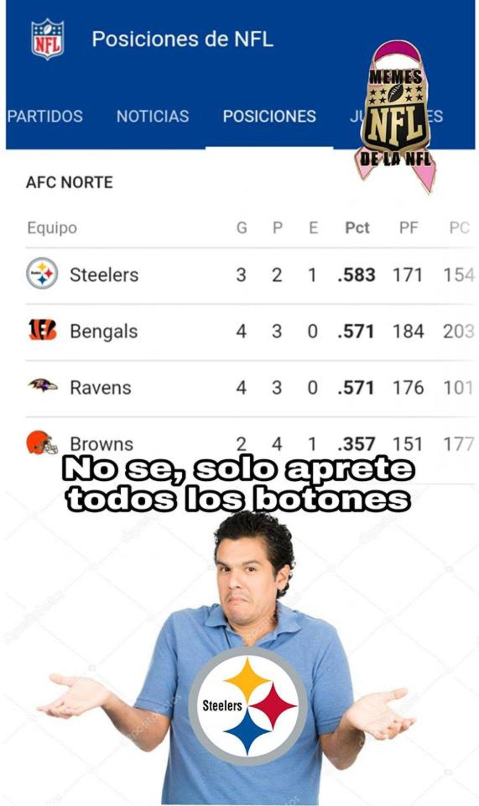 Memes de la NFL en la semana 7