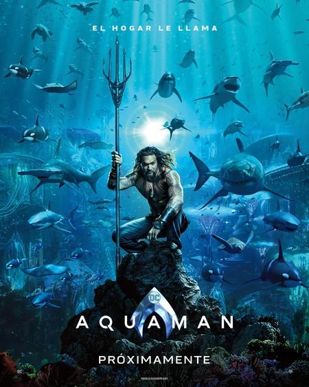 Aquaman, póster oficial