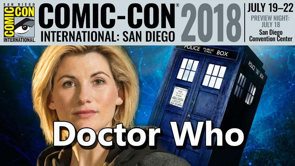 En SDCC 2018 Jodie Whitaker aparecerá como la nueva Dr Who