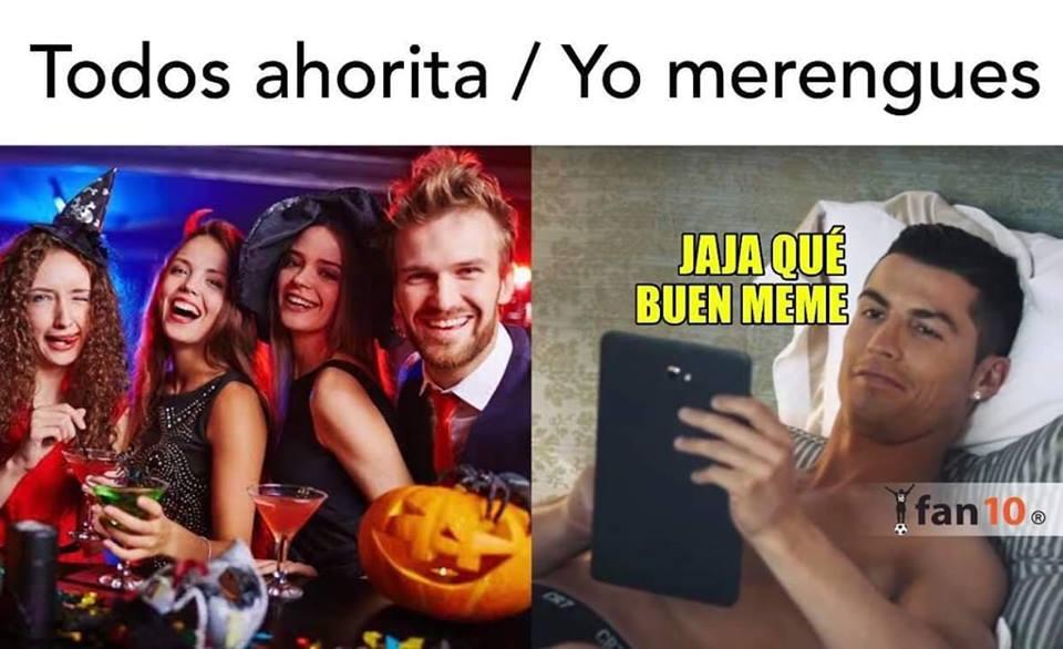Memes de Halloween y Día de Muertos