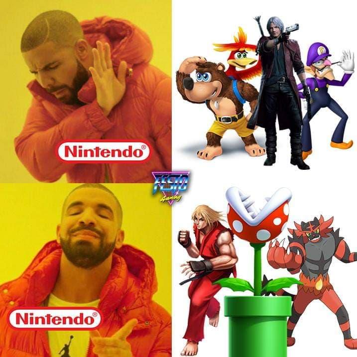 Memes de Super Smash Bros