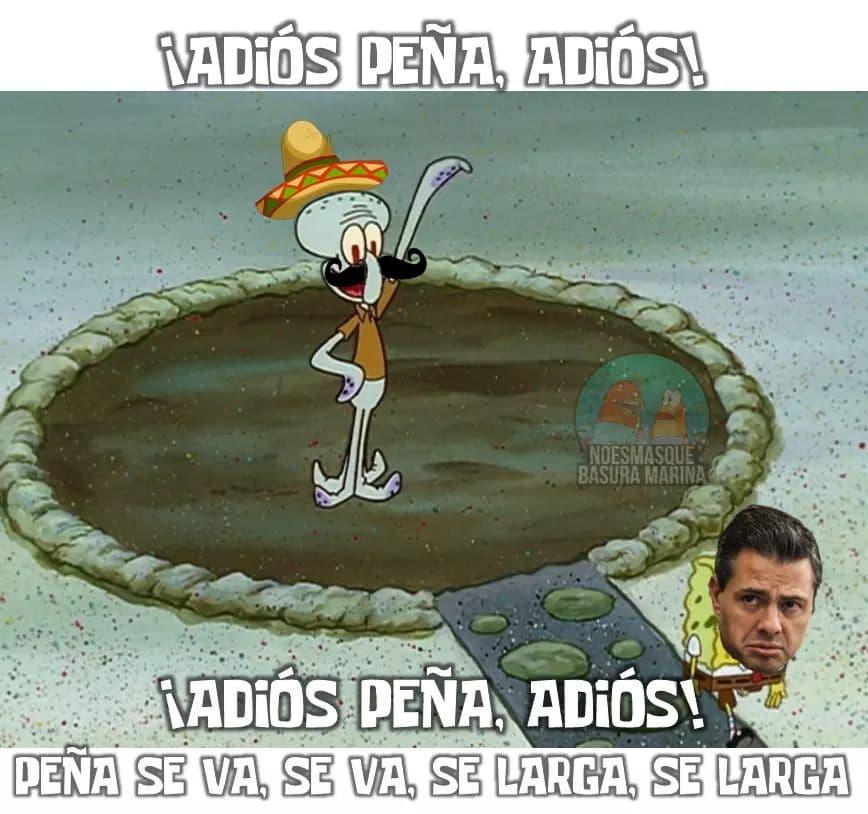 Peña se va, se inauguran los memes de AMLO