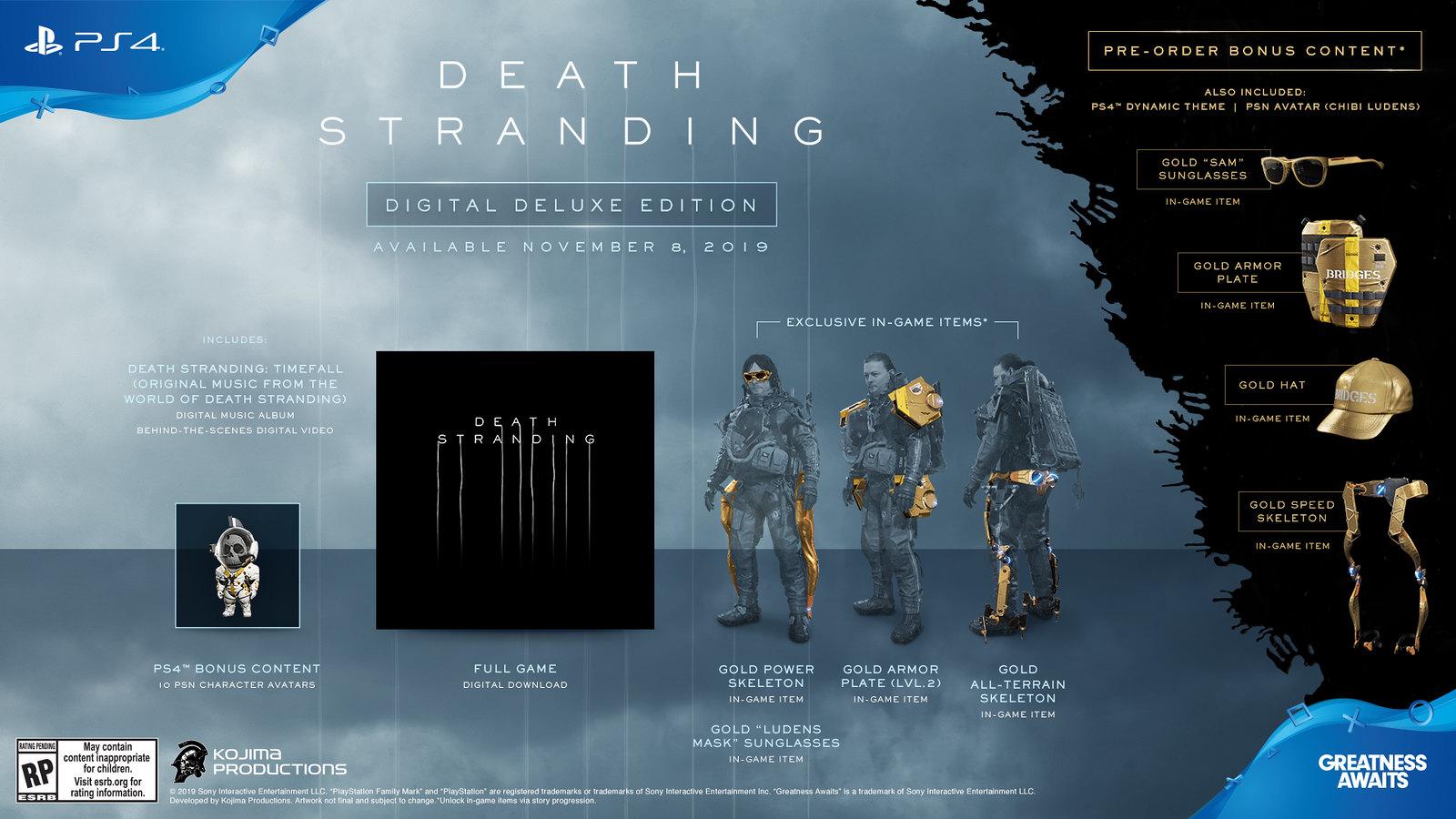 Death Stranding Edición Digital Deluxe