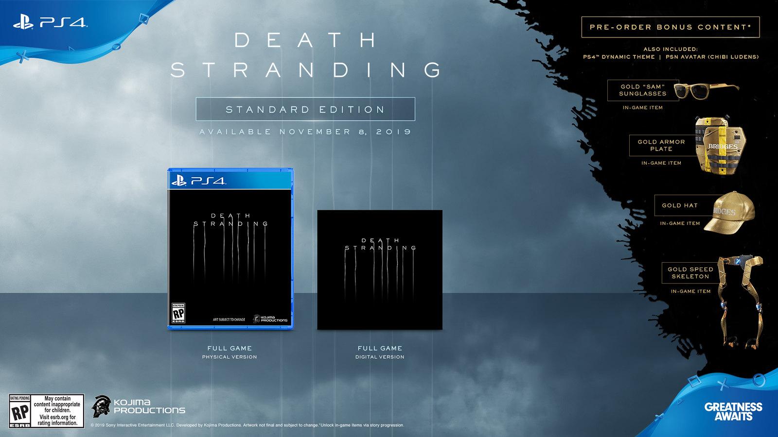 Death Stranding Edición Estándar