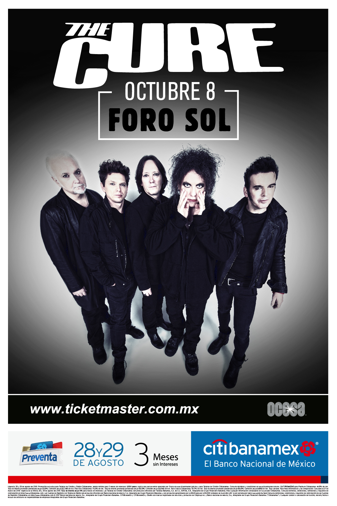 The Cure México 2019