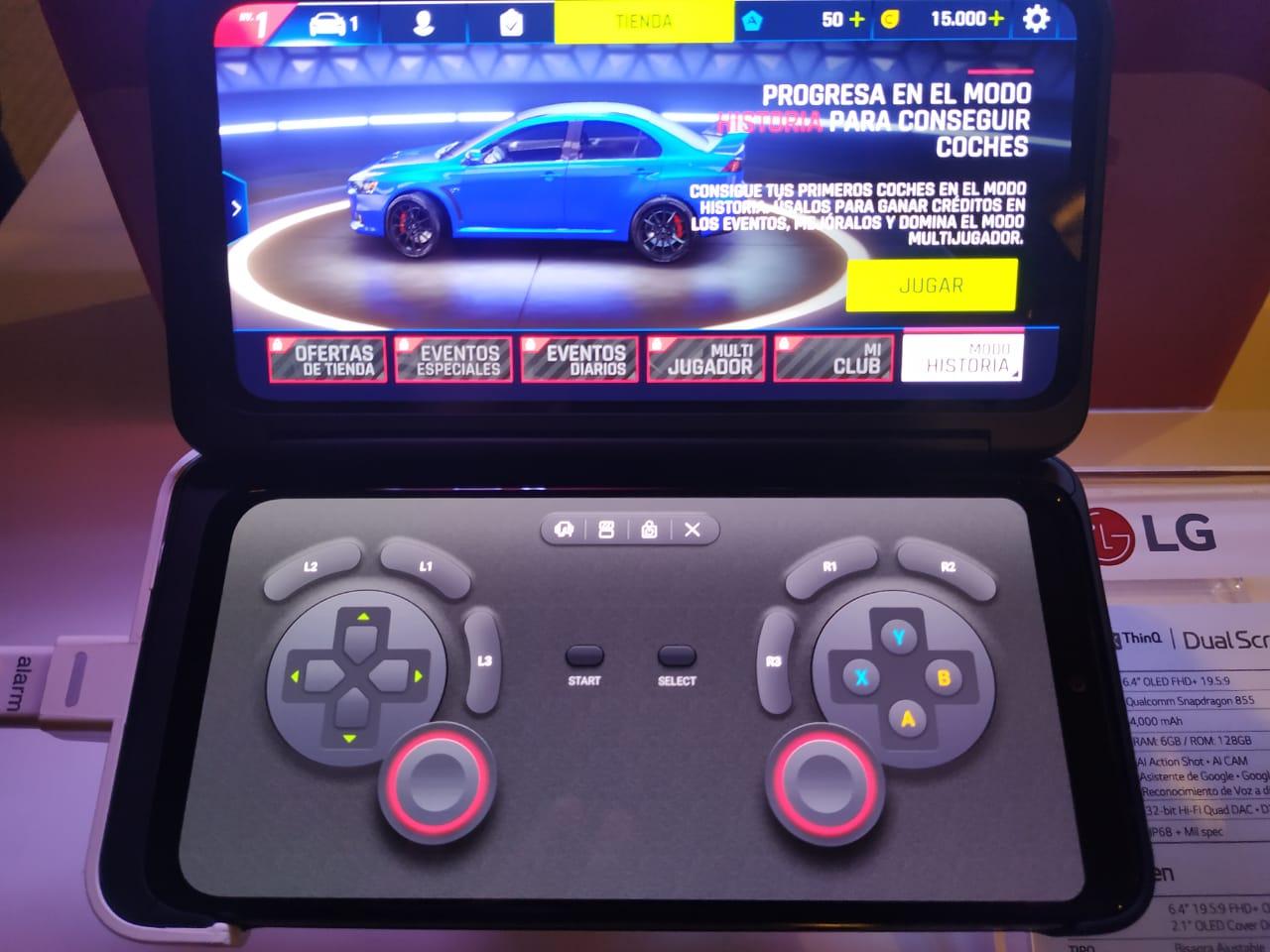 LG G8X y su doble (triple) pantalla ya disponible en México