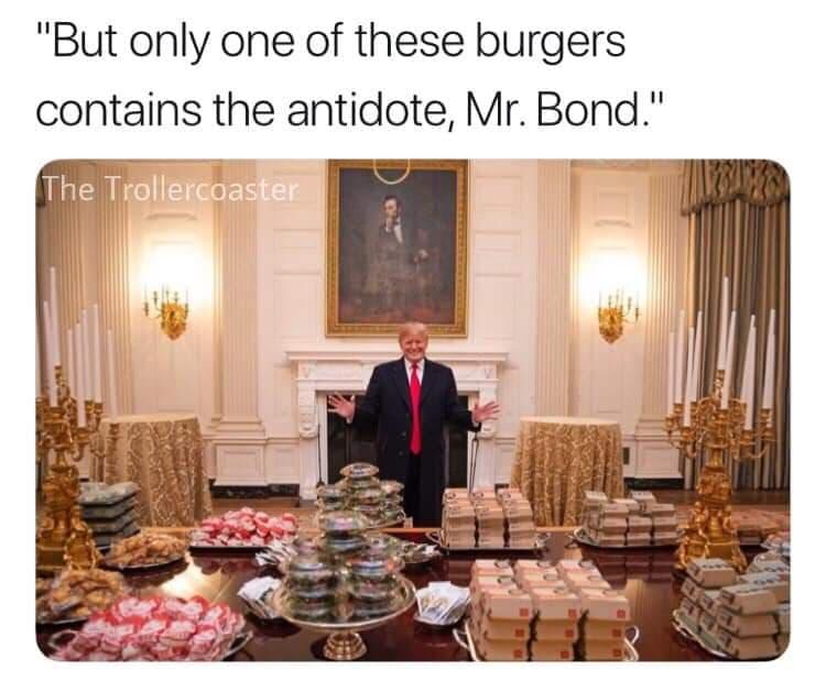 La comida de Donald Trump