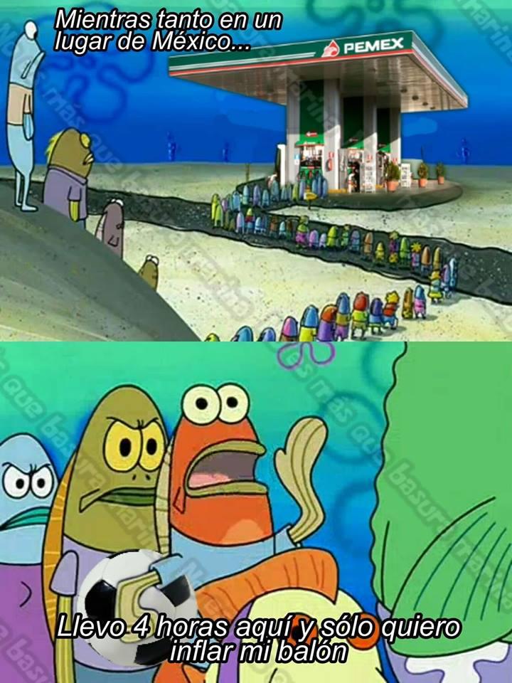 Memes de la falta de gasolina