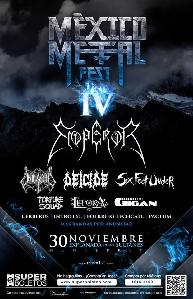 Tecate México Metal Fest IV