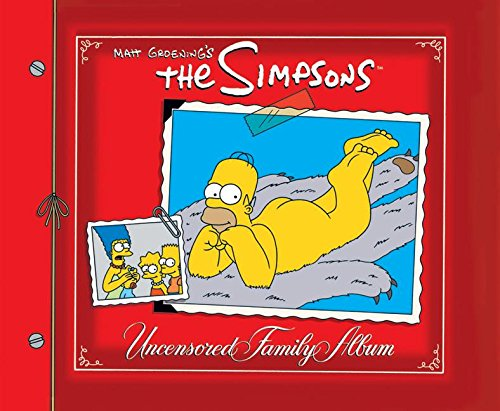 Album familiar de Los Simpson sin censura