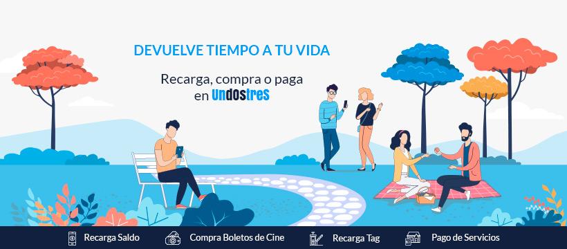 UnDosTres: app para pagar tus servicios