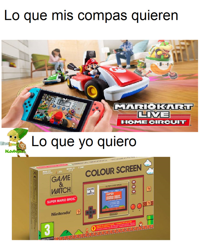 Memes del Nintendo Direct