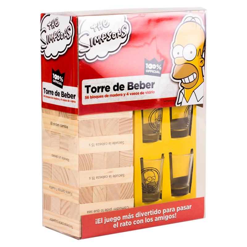 Torre de beber de Los Simpson