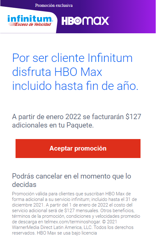 HBO Max: Cómo contratar con Telmex y su promoción de 6 meses gratis