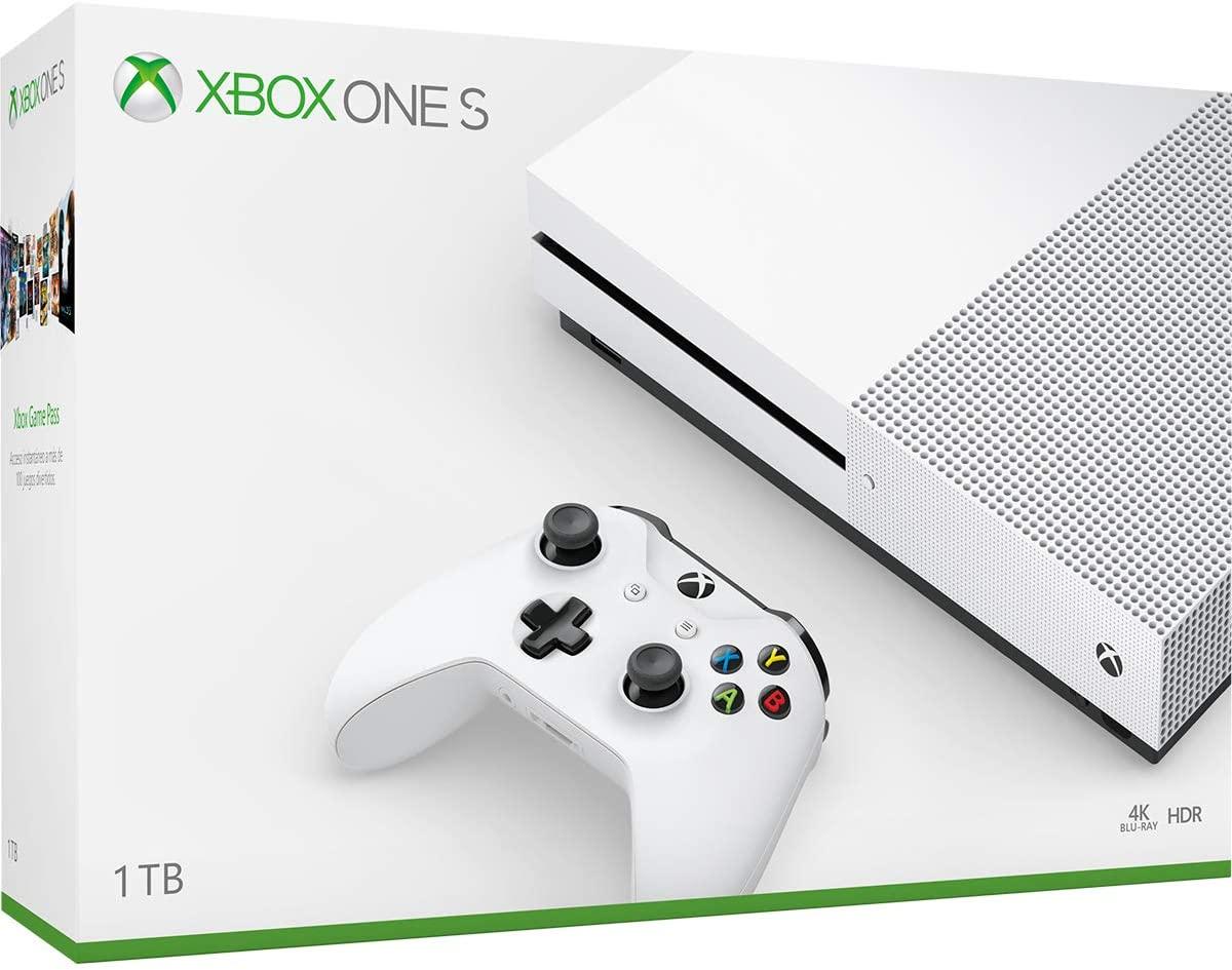 Consola Xbox One S 1TB + 14 días Gold + 1 mes de Game Pass