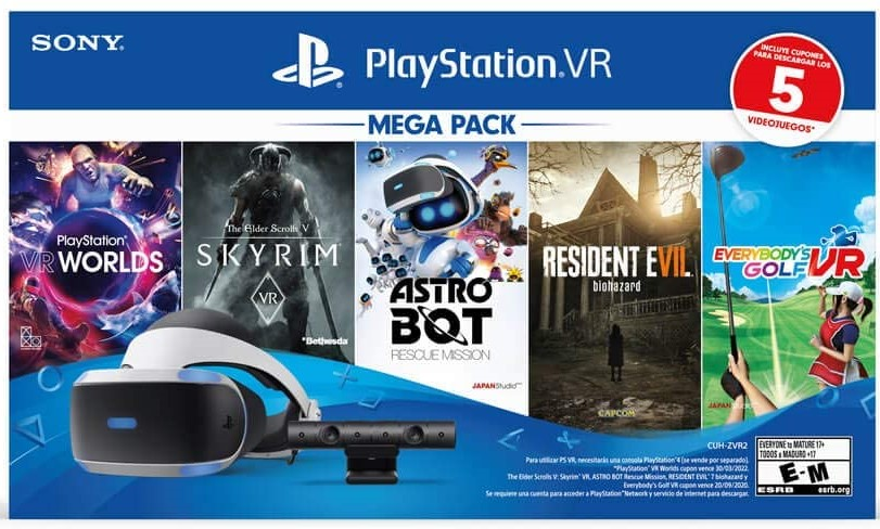 PlayStation VR Mega Pack.