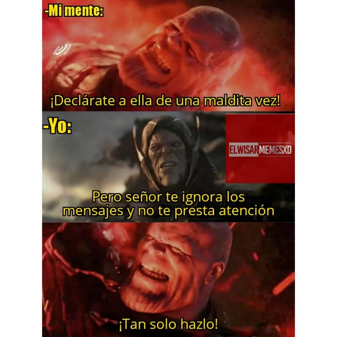Memes de Thanos
