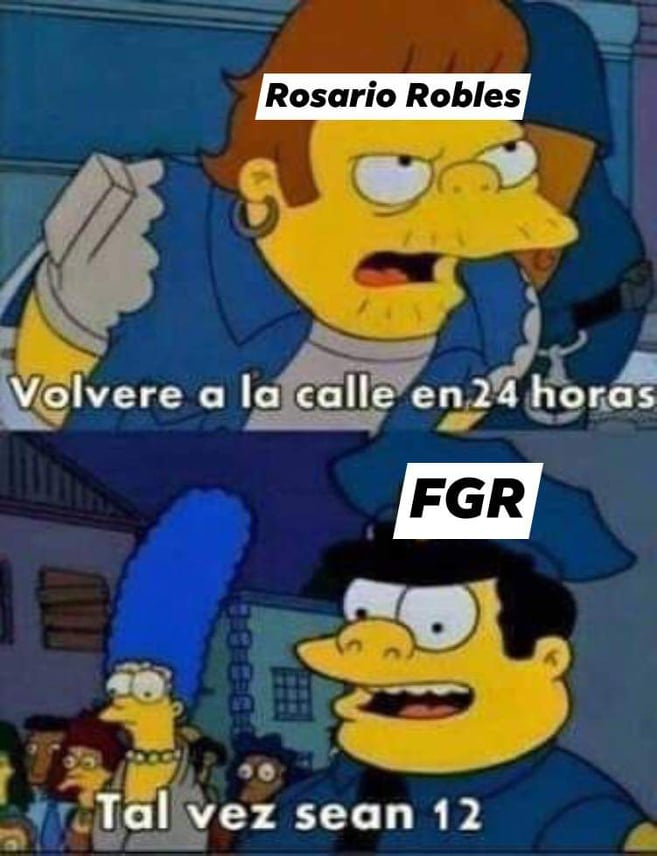 Memes de Rosario Robles presa