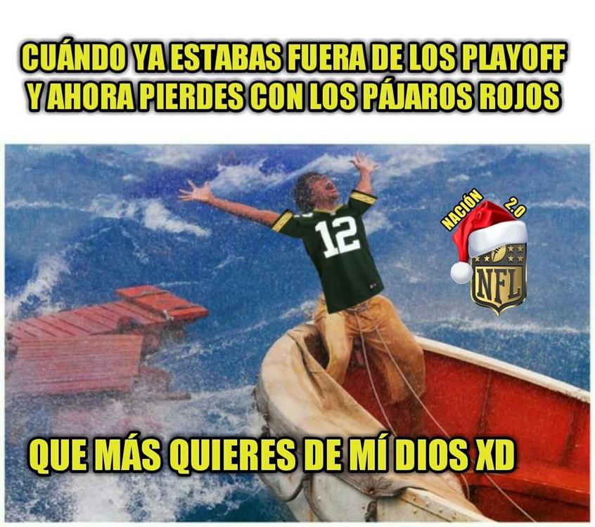 Memes de la semana 13 en la NFL