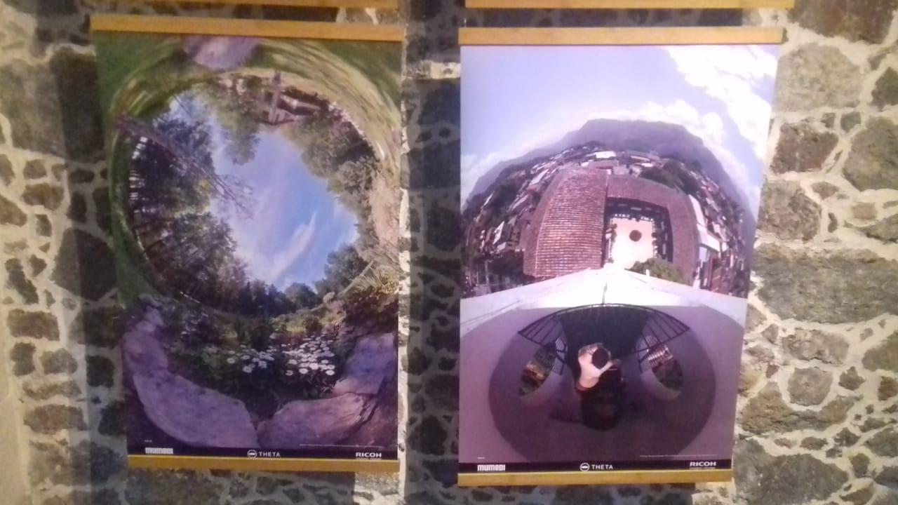 Exhibición fotografías 360°