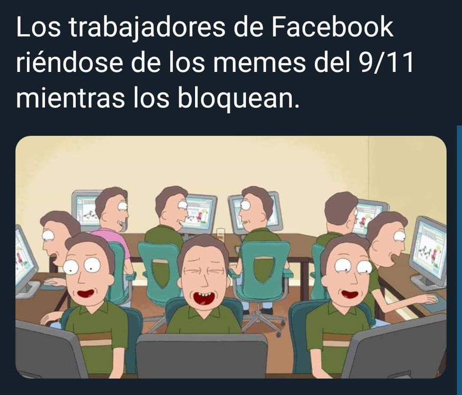 La censura de Facebook al 9-11