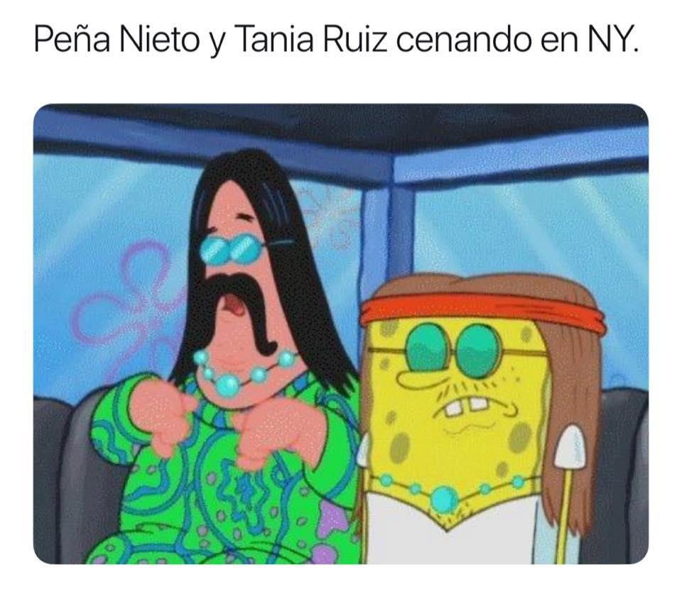 Memes de EPN y Tania Ruiz encubiertos