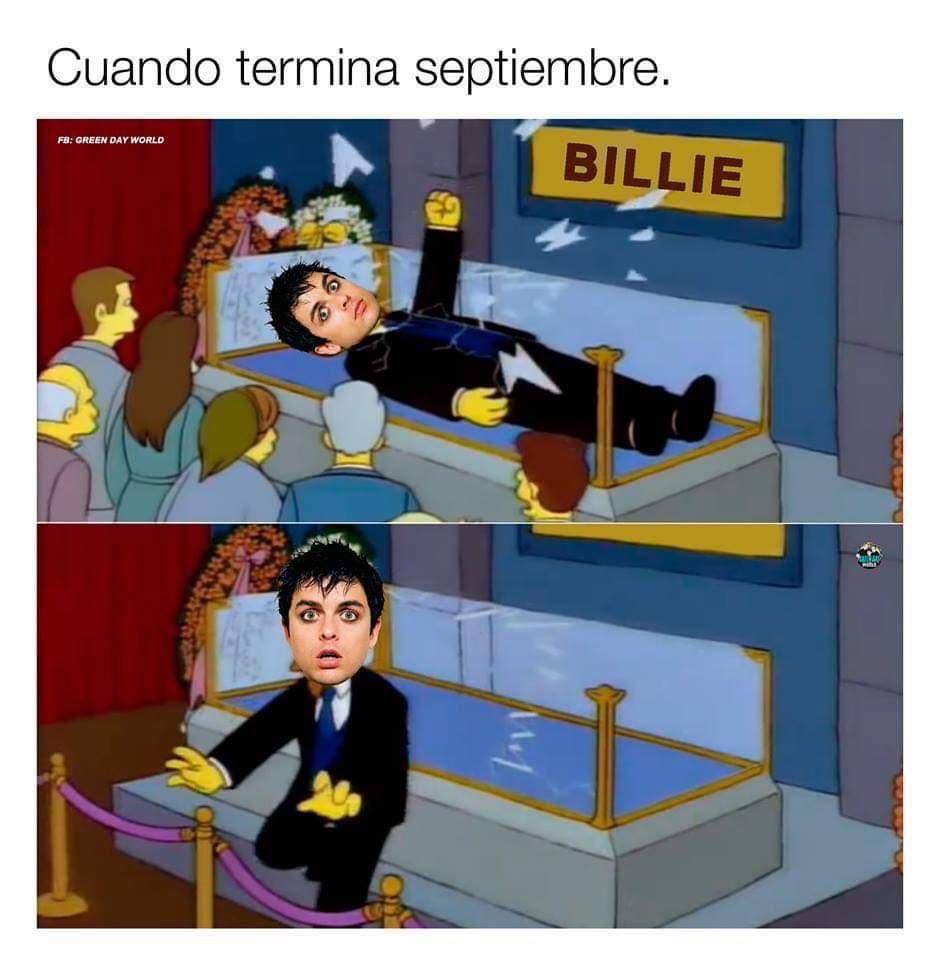 Adiós septiembre/Hola octubre