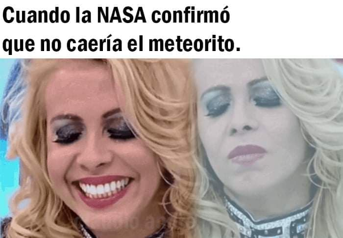 Memes del meteorito