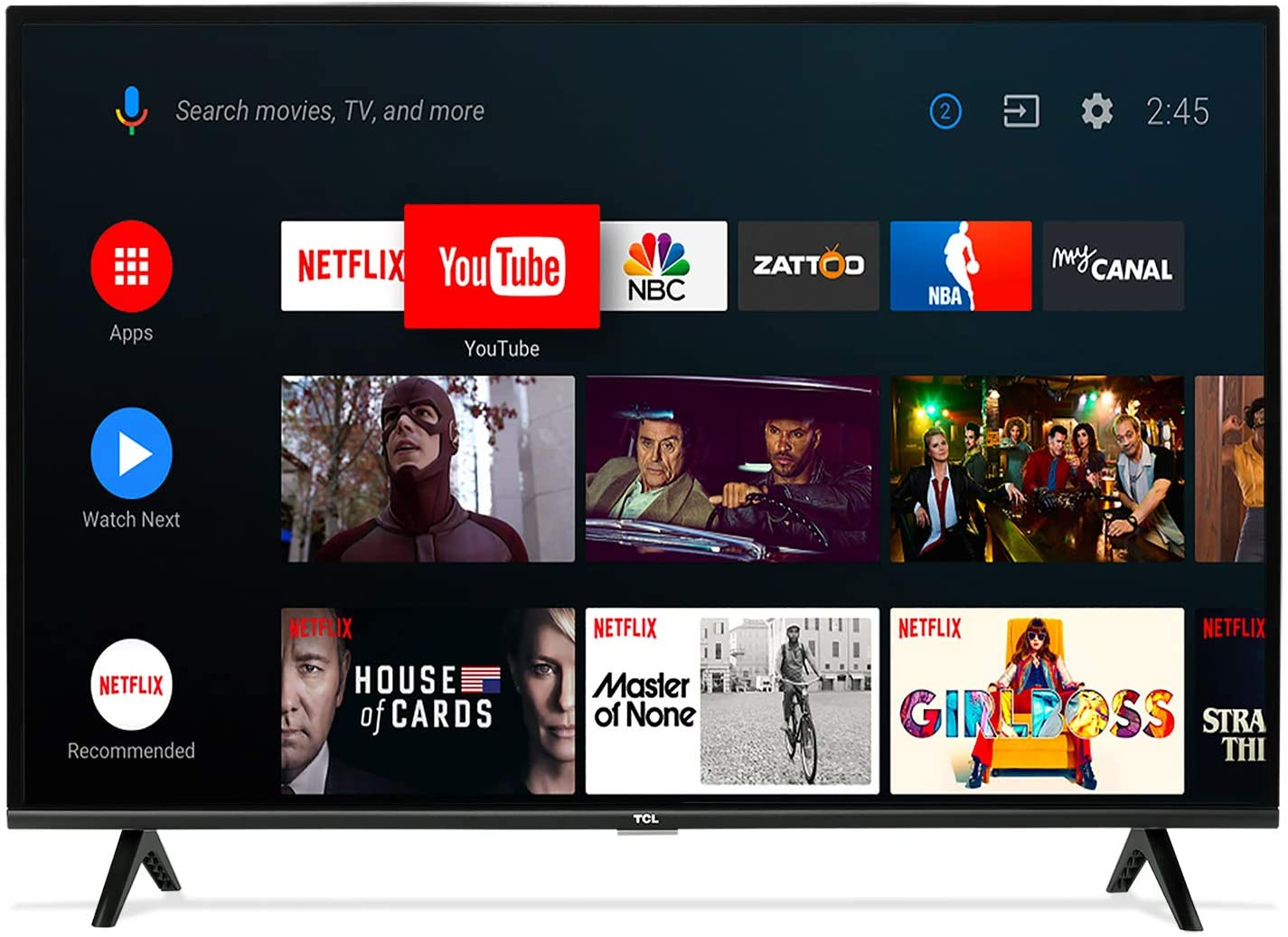 TCL Pantalla 32¨ Smart Android TV HD 32A325