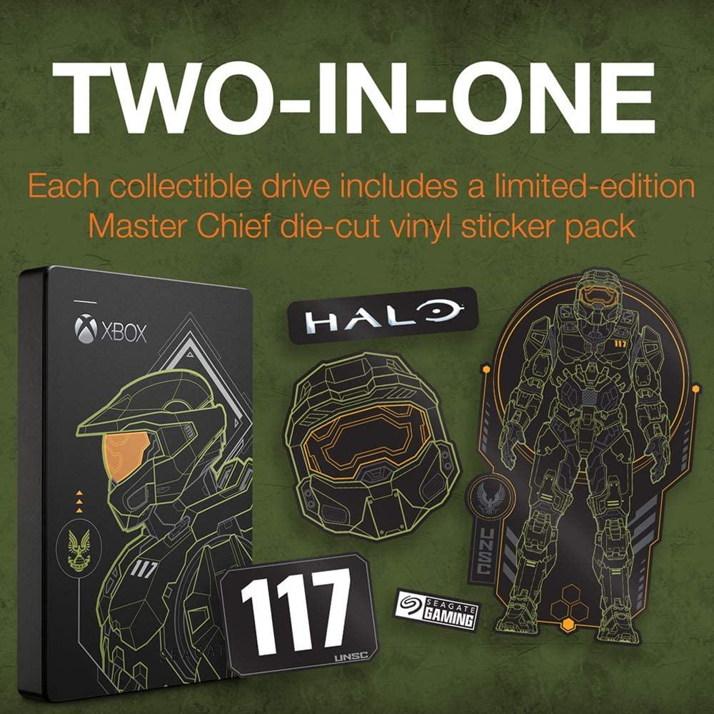 Seagate Halo Master Chief 2TB