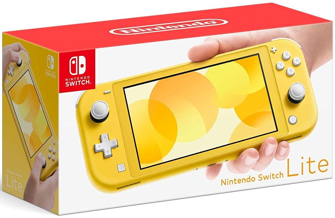 Nintendo Switch Lite Amarillo $3,999.00 Envío GRATIS