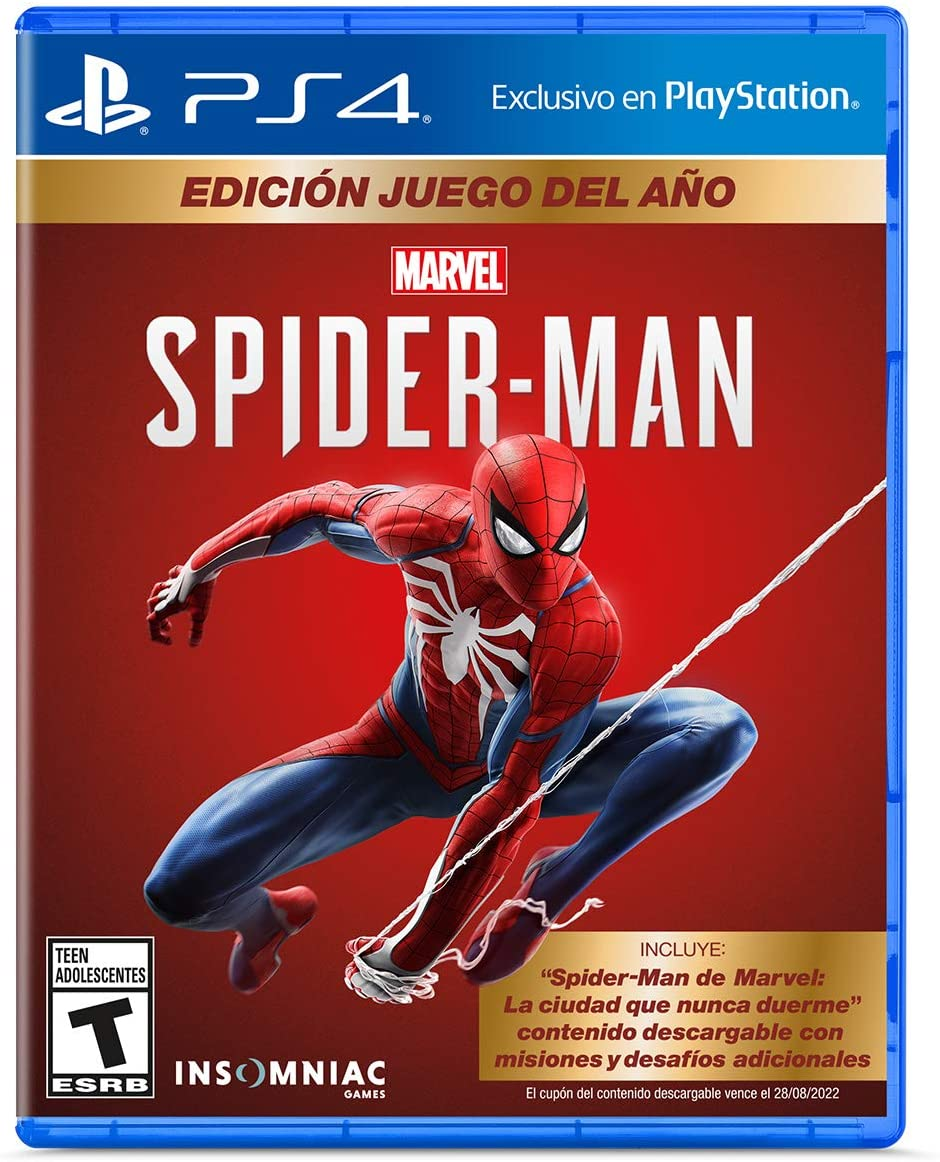 Marvel's Spider-Man: Game Of The Year Edition.