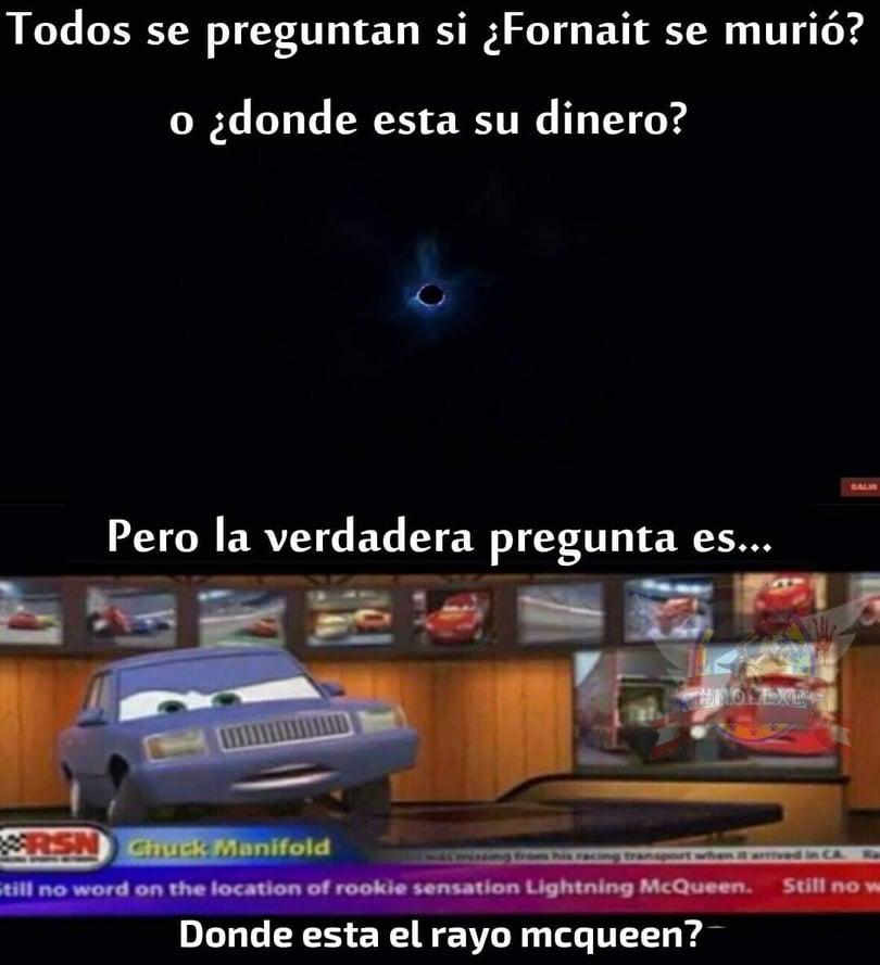 Memes del agujero negro de Fortnite