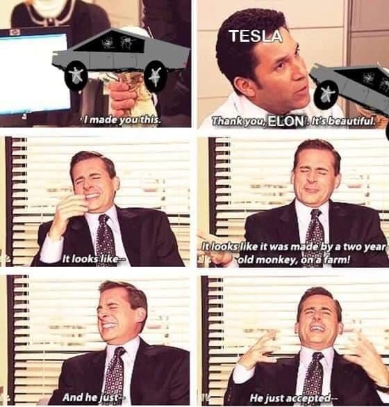 Memes del Tesla Cybertruck (Parte 2)
