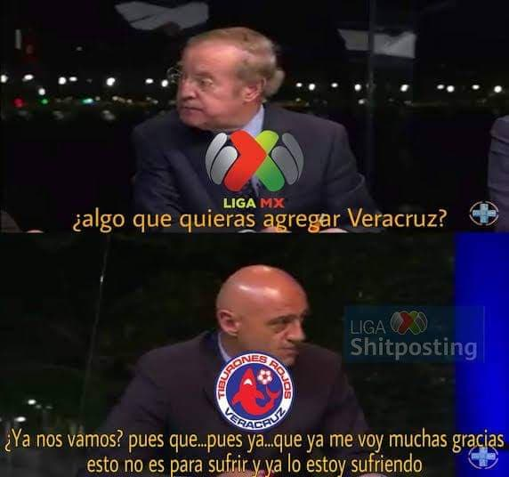 Memes del Veracruz desafiliado