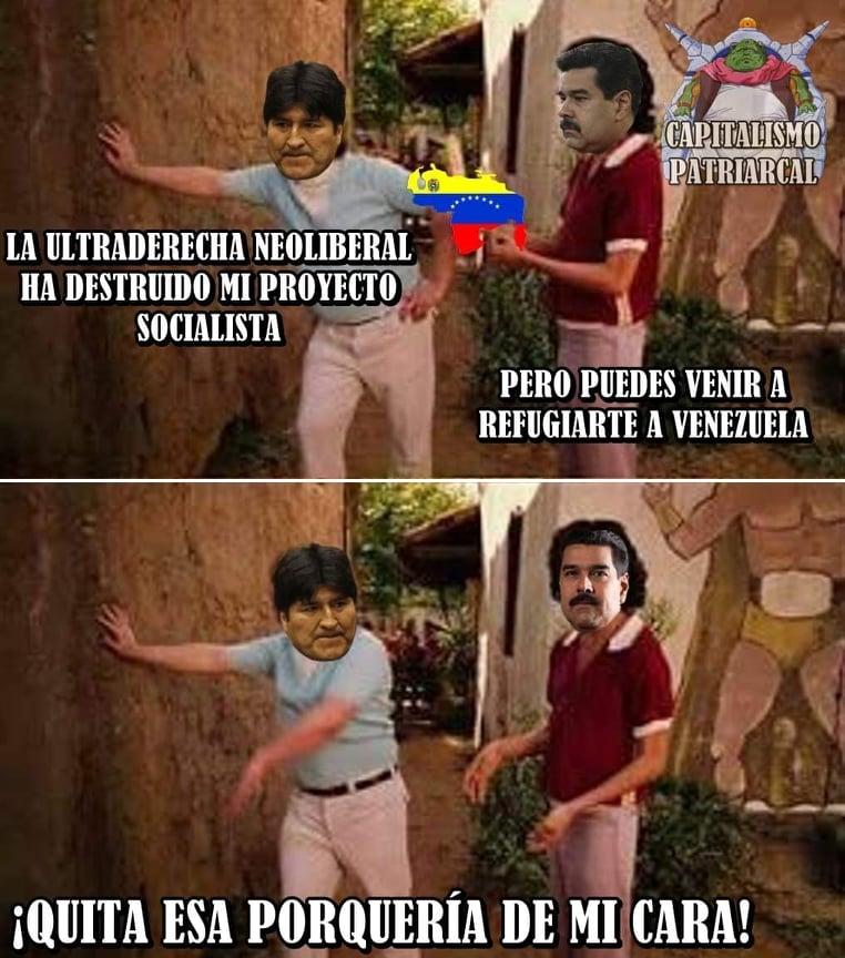 Memes de Evo Morales en México