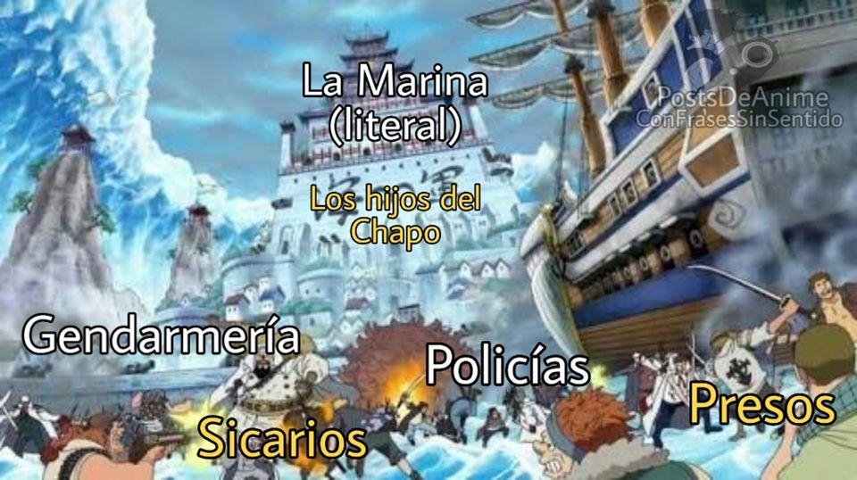 Memes de la liberación del hijo del Chapo Guzmán