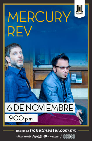Mercury Rev México 2019