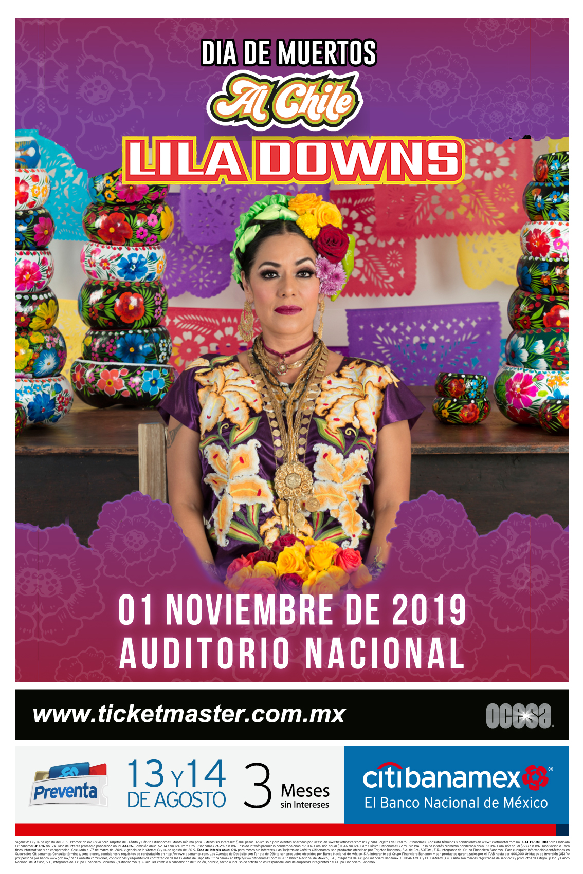 Lila Downs México 2019