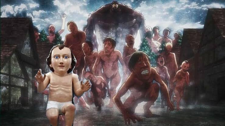 Niño dios gigante