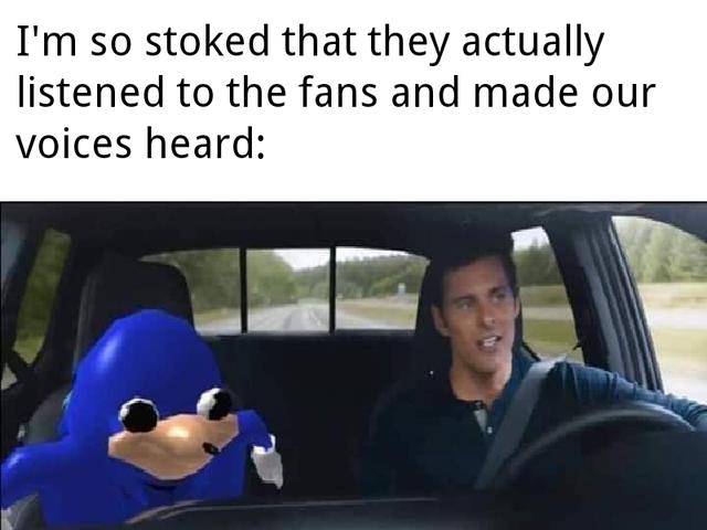 Memes de Sonic, la película