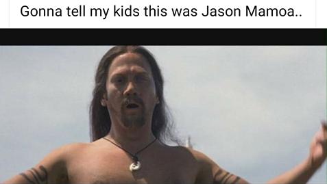 I'm gonna tell my kids...
