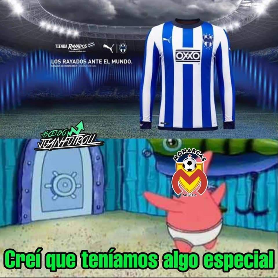Jersey de Monterrey para el Mundial de Clubes