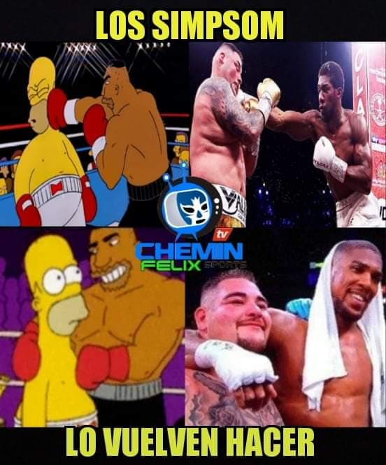 Memes de la pelea de Andy Ruiz vs Anthony Joshua