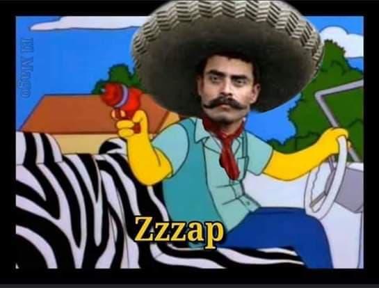Memes de la pintura de Zapata