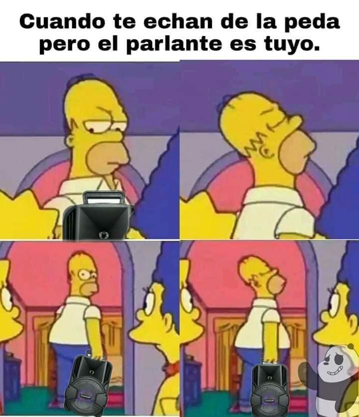 Homero Simpson indignado